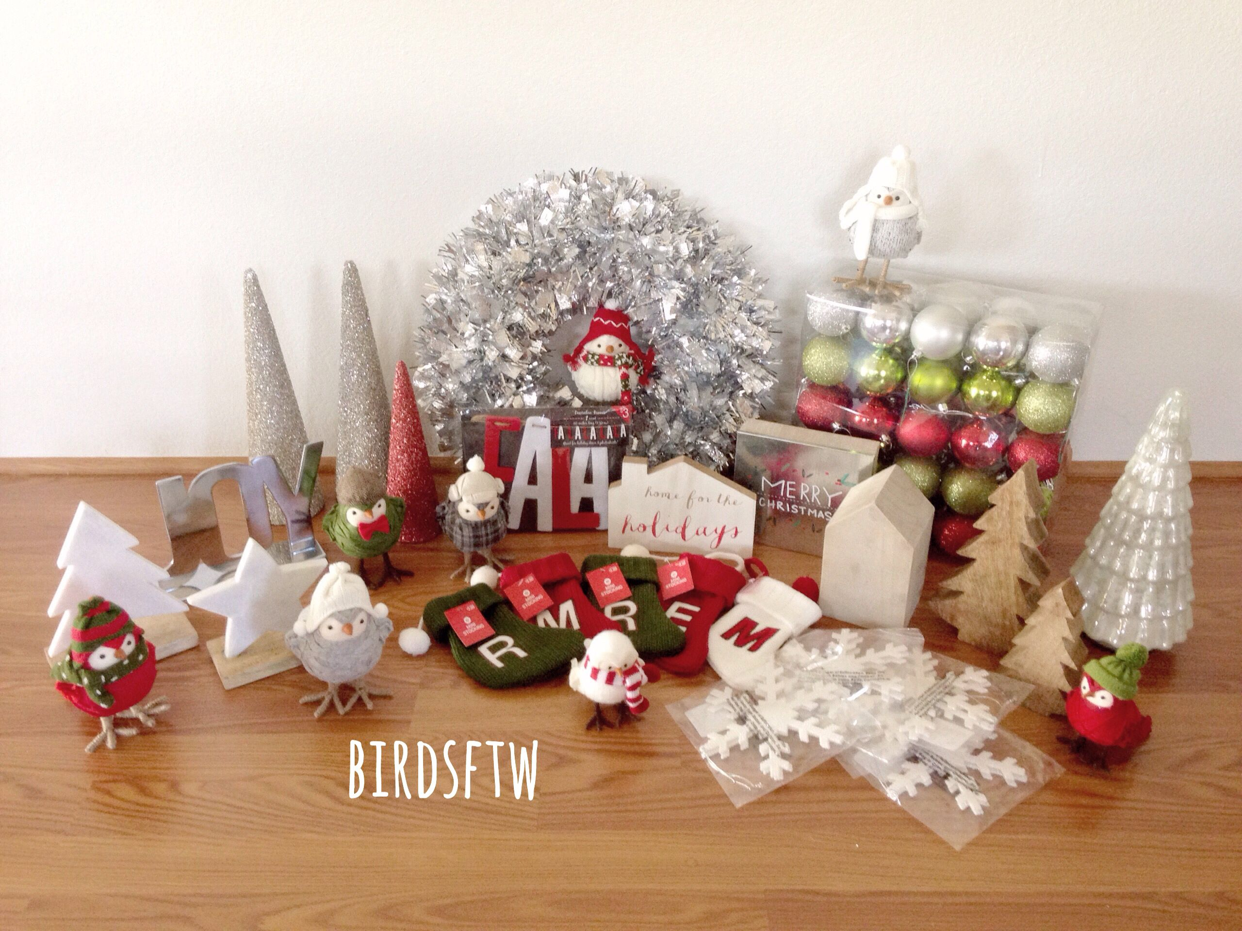 this years christmas decorations mostly from target and a few things from tj maxx i love christmas - Christmas Decorations Target Stores