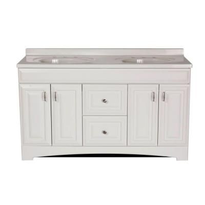 St Paul Providence 60 In Vanity In White With Cultured Marble