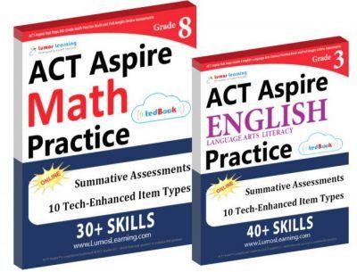 Workbooks For Math And English Language Arts Act Aspire