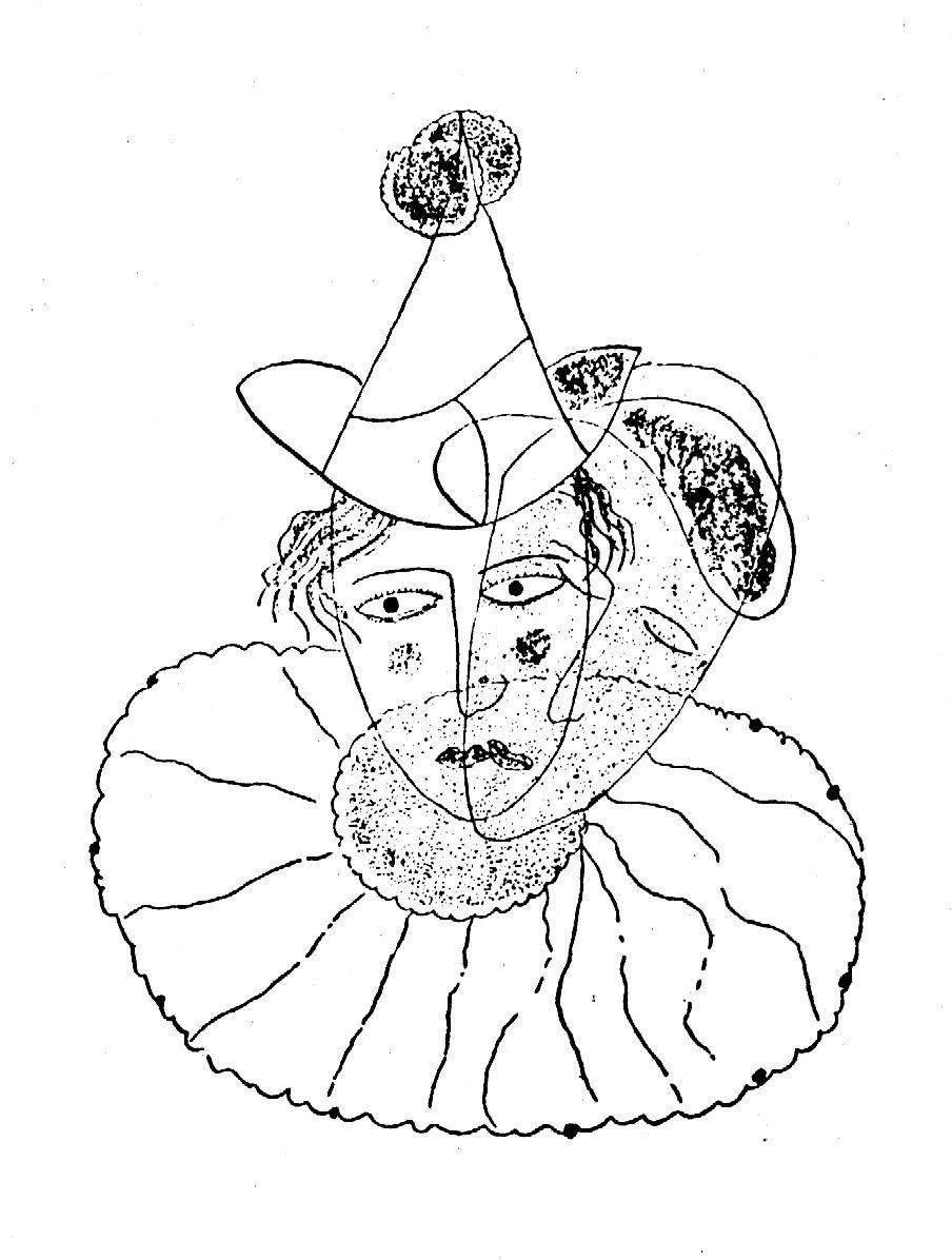 Resultado de imagen para Dibujos como poemas, colección Cuaderno postal:LORCA