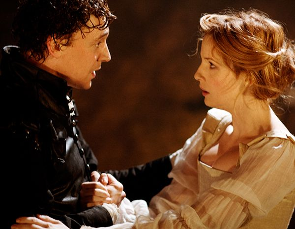"""My dear beautiful lady, whatever happens to Michael Cassio, he'll always be your humble servant."" (Othello, III,iii). Tom Hiddleston as Cassio. #ShakespeareSunday"