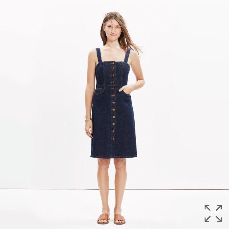 7eff99db8e Madewell Denim Overall Dress Matilda Wash 0