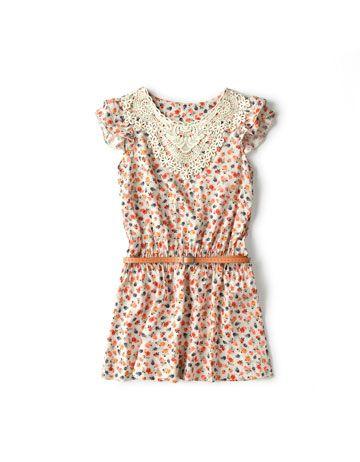 floral dress. zara kids.   Girls: Spring/Summer   Pinterest