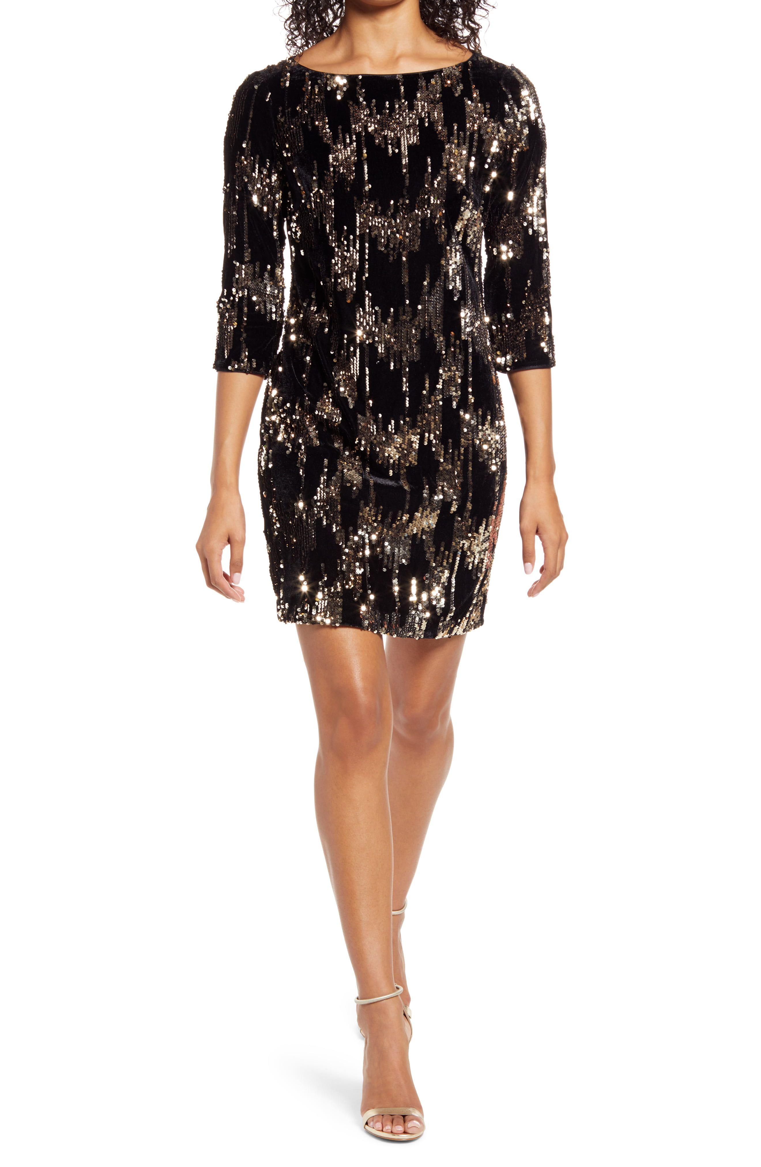Eliza J Sequin Velvet Shift Dress Nordstrom In 2021 Velvet Shift Dress Shift Dress Nordstrom Dresses [ 4048 x 2640 Pixel ]
