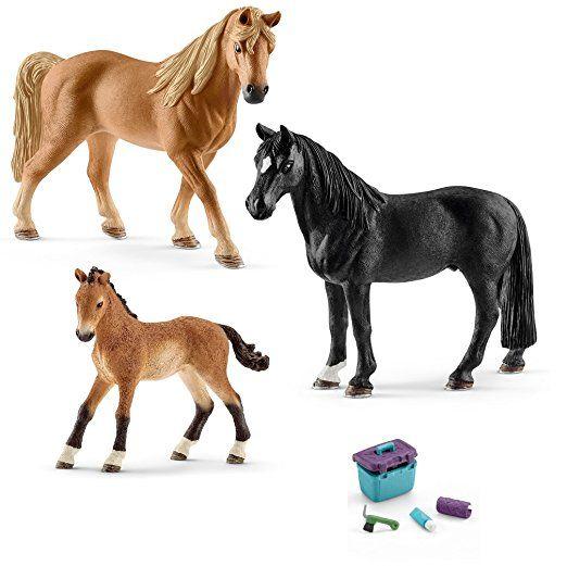 Schleich Tennessee Walker Familie 13804 13832 13833 42366 Pferdepflege Schleich Pferde Pferdestall Pupp Pferdepflege Schleich Pferde Pferde Pflege