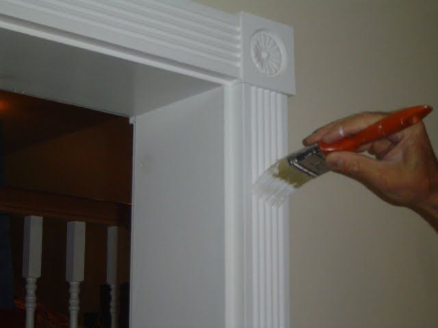 Great If You Have Painted Interior Wood Trim, Chances Are They See Their Fair  Share Of Minor Scuff Marks And Nicks In The Paint. Touch Up Painting Of  Interior ...
