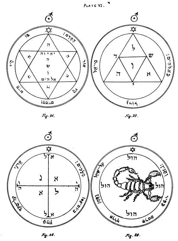 The Key Of Solomon Plates Plate Vi Quest 1 Pinterest