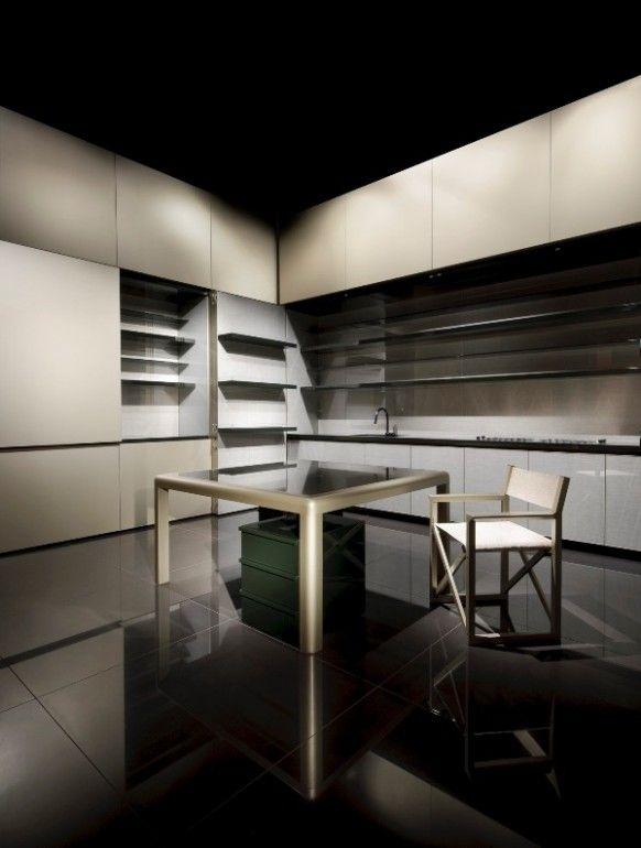 Best Giorgio Armani Kitchen At Milan Furniture Fair 2009 400 x 300