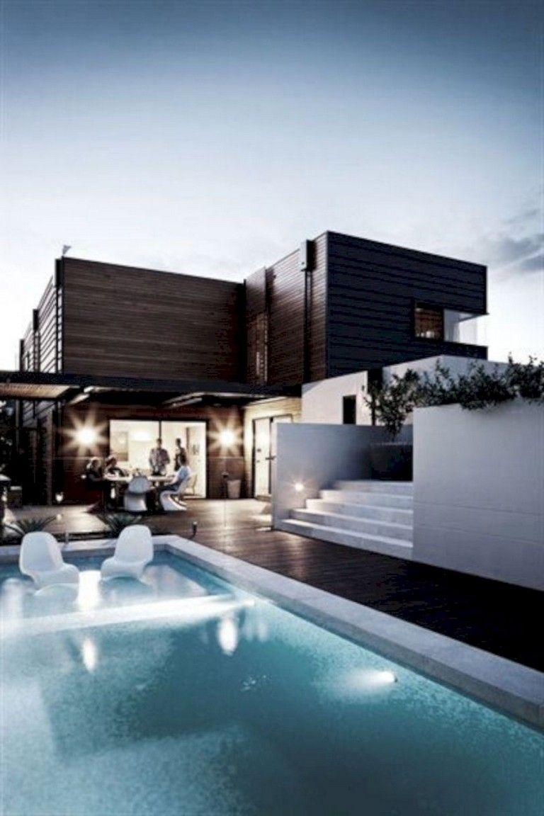 42 Stunning Exterior Home Designs: 45+ Stunning Swimming Pool Landscape Design Ideas