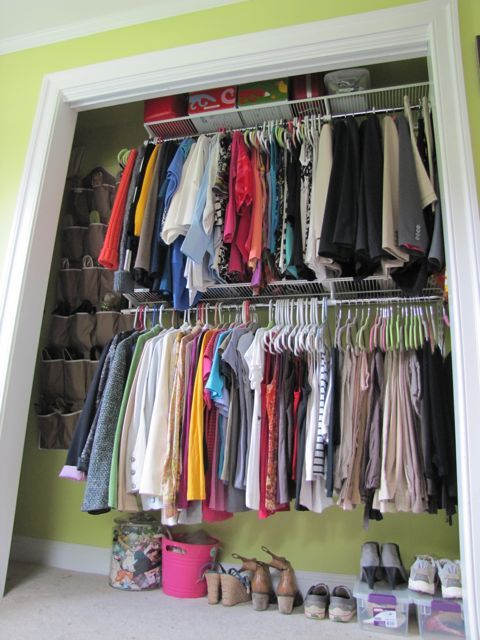 Double Racks Would Be So Much Better In My Closet