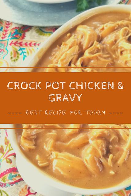 crock pot chicken  gravy  soup  chicken gravy crockpot