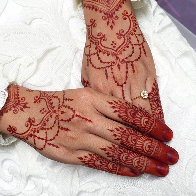 Yana S Bridal Henna Design Inspired By Syraskins Faizahalim