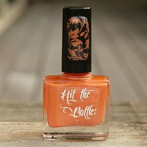 "Hit the Bottle ""Midnight Pumpkin"" Stamping Polish"