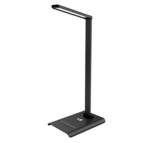 Le Dimmable Led Desk Lamp 7 Brightness Levels Eye Protection Design Reading Lamp Touch Sensitive Control 6w Folding T Led Desk Lamp Led Desk Lighting Desk Lamp