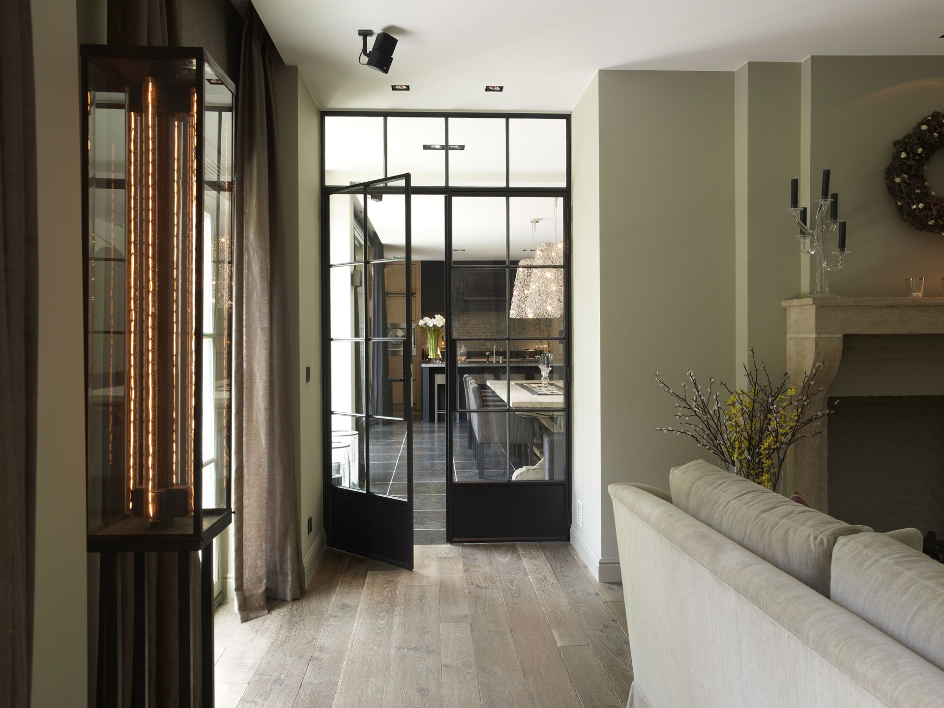 Tussendeur keuken - woonkamer | Home | Pinterest | Doors, Kitchen ...
