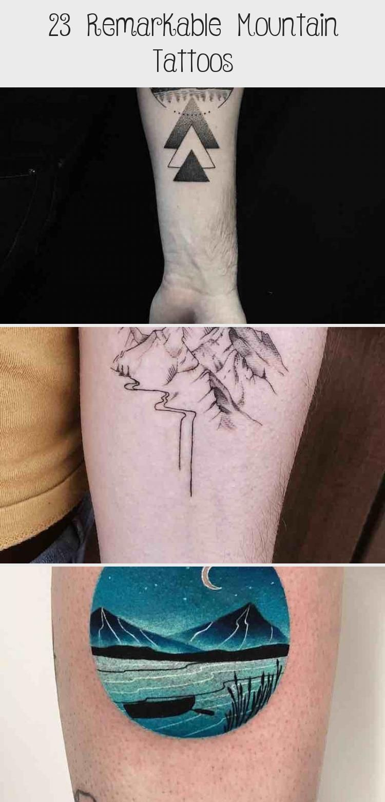 Photo of 23 Remarkable Mountain Tattoos