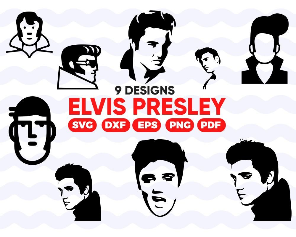 Elvis Presley Svg Elvis Svg Elvis Presley Elvis Shirt Elvis Music Shirt Elvis Presley Top Elvis Memorabilia Elvis Presley Fan Elvis Elvis Presley Elvis Svg