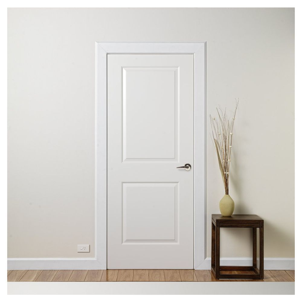 Corinthian Cambridge Internal Door 2040x820x35mm White & Corinthian Cambridge Internal Door 2040x820x35mm White | our house ... Pezcame.Com
