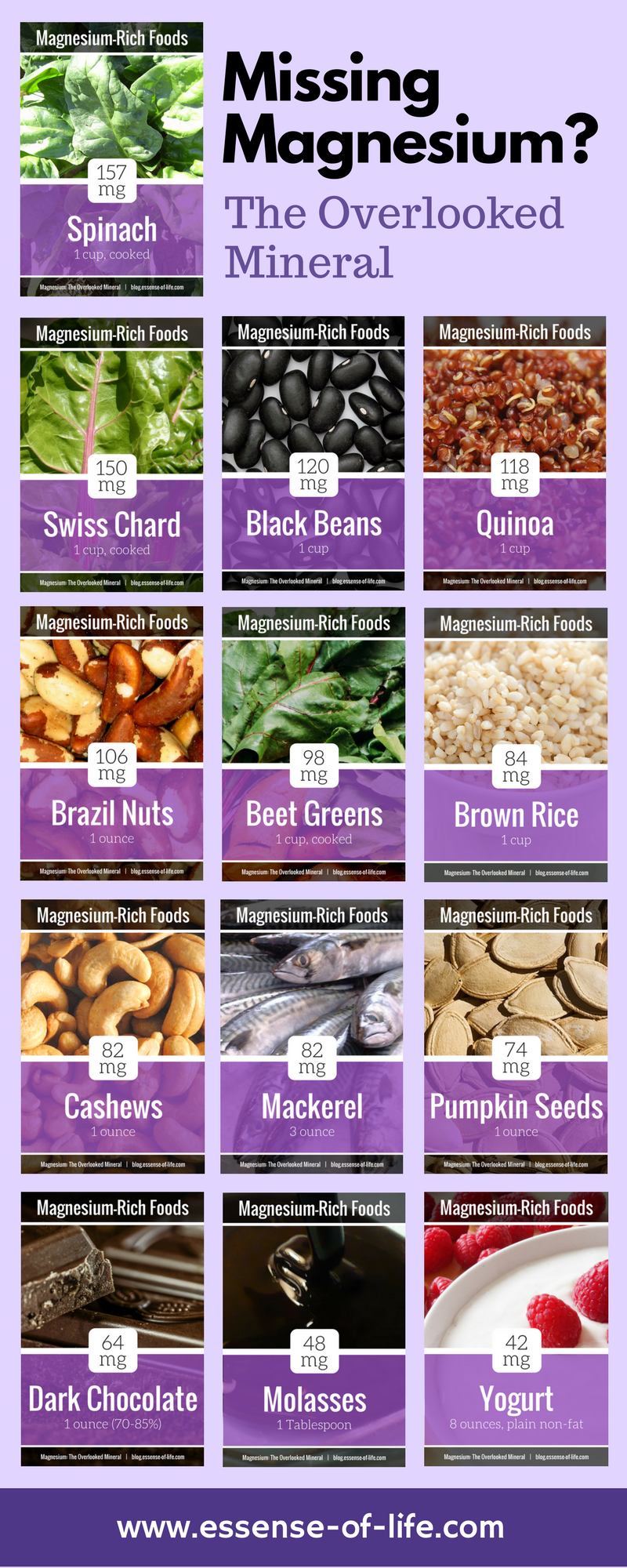Magnesium: The Overlooked Mineral   The Essential Health Blog