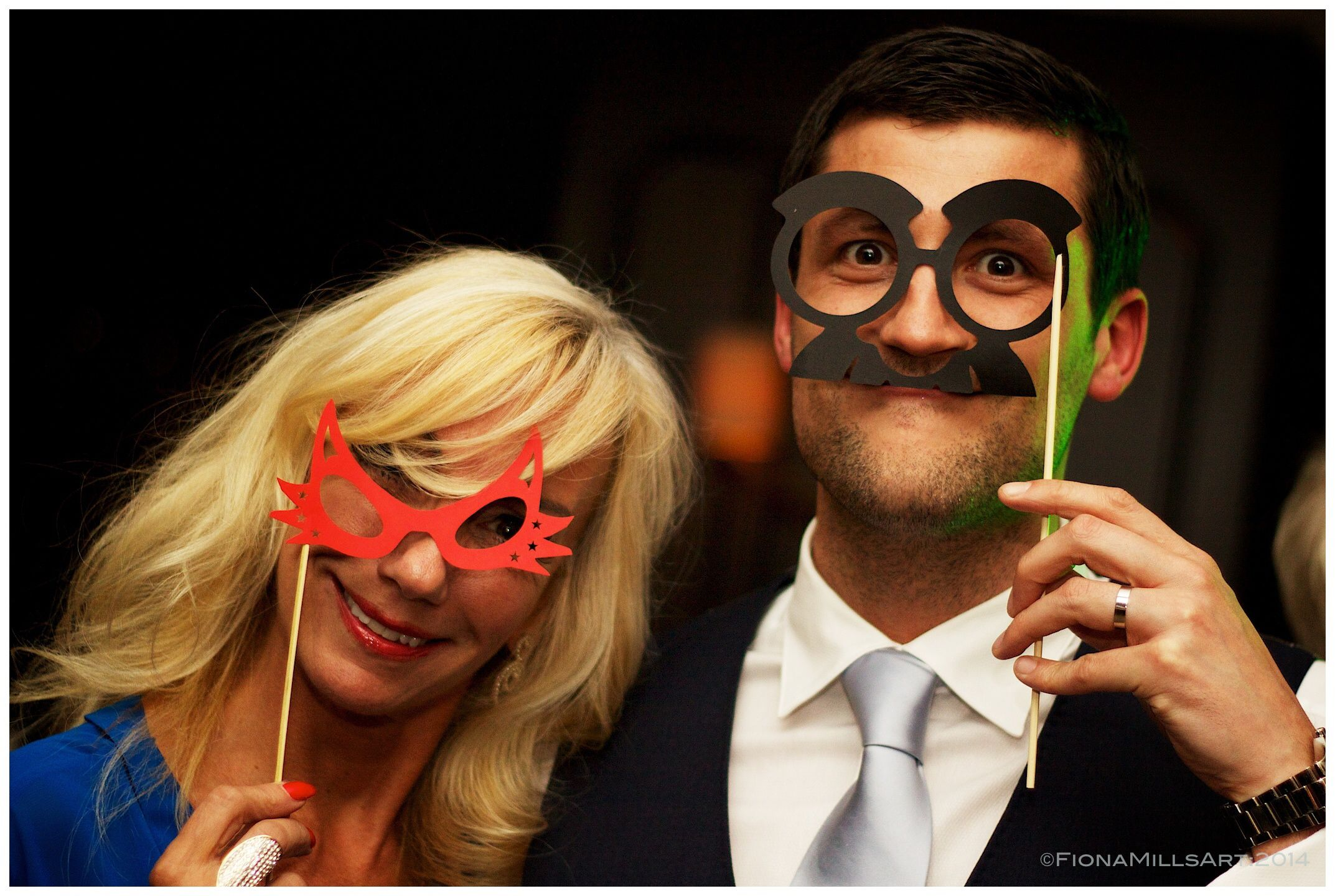 Charlie Chaplin Style Party Props To Inject Some Fun Into The Wedding Reception Photos