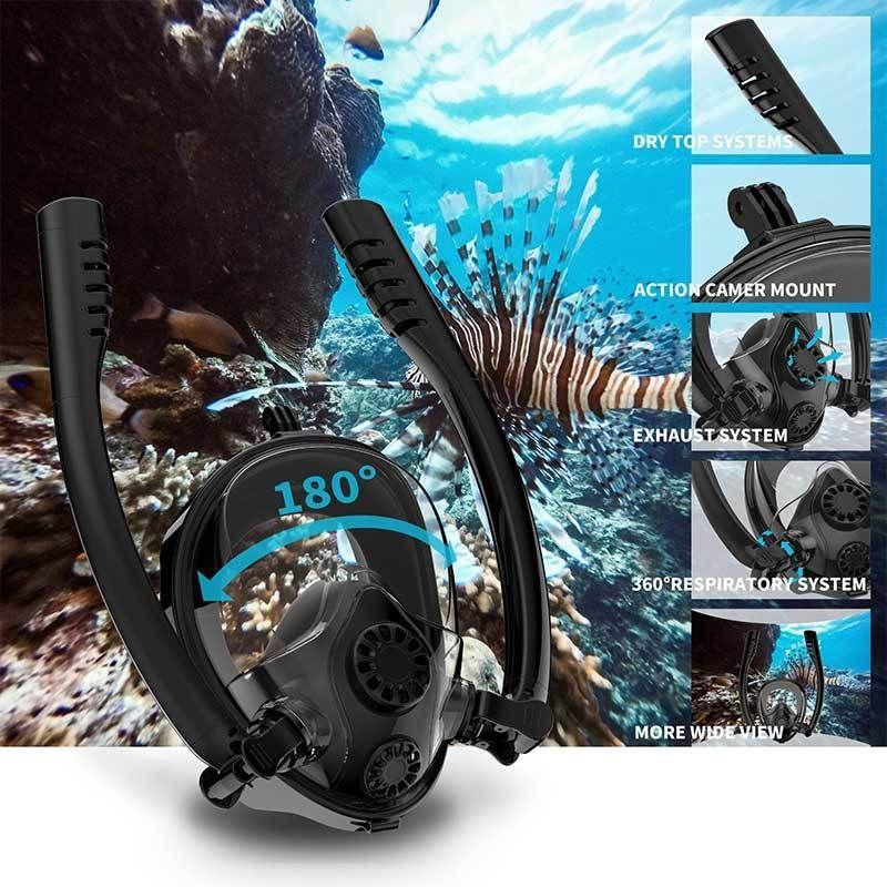 2020 New Diving Mask Scuba Mask Underwater Anti Fog Full