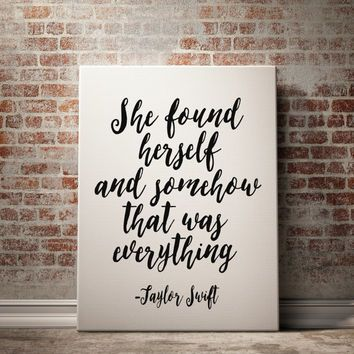 Taylor Swift Quote Prints Lyrics Print Dorm Room Decor Wall Art Prints Typography Print At Home Inspirational Prints Inspirational Posters Motivational Prints