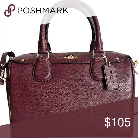 Coach Mini Bennett Satchel In Oxblood Bag Is Like New Only Used A Few Times Gorgeous Color Bags Satchels