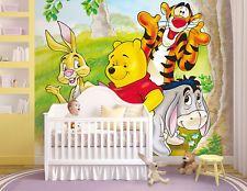 Kinder fototapete poster winnie pooh kinderzimmer bord re - Winnie pooh babyzimmer ...