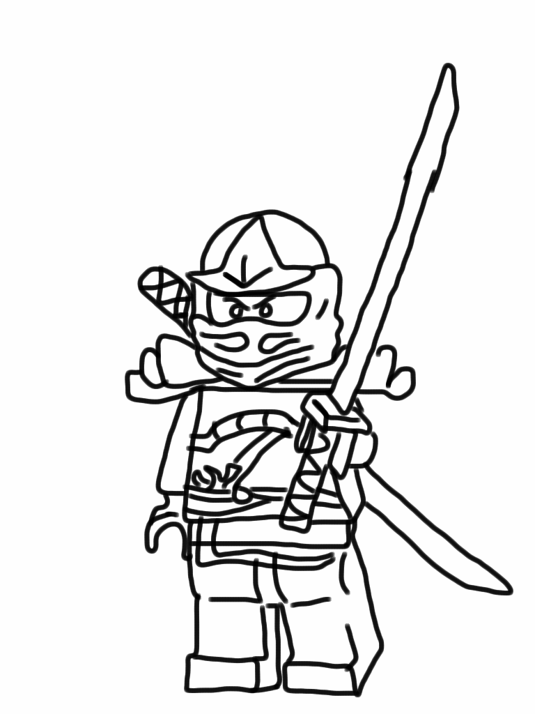 Ninja Coloring Pages ColoringPagesWallpaper.Com | Fun | Pinterest