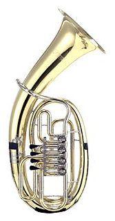 Cerveny CEP 731-4RX Bb- baritone, goldbrass body, MINIBAL- ball joints, nickel silver leadpipe, thomann slides and bell rim, #music #thomann #cerveny