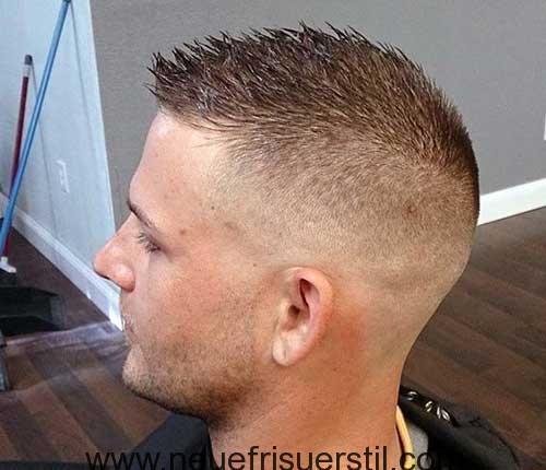Rasiert Seite Armee Kurzen Haarschnitt | Herren frisuren