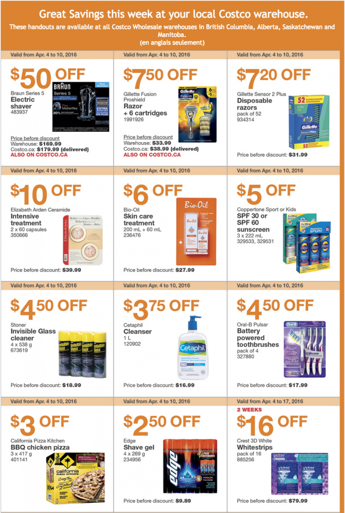 Costco Canada Weekly Instant Savings Handouts Flyers For British ... 6688f1091