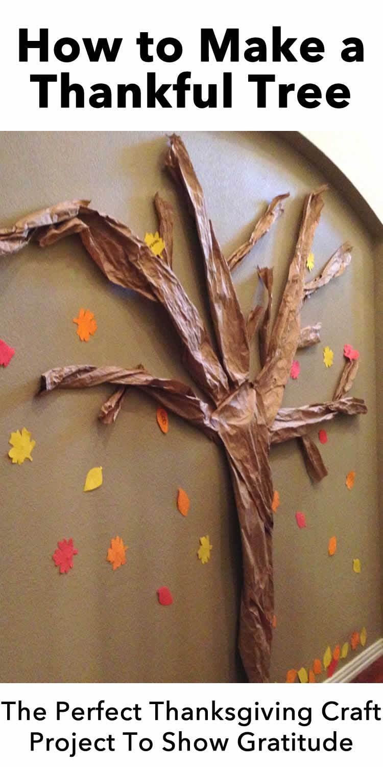 How To Make A Wall Thankful Tree Thankful Tree Thankful Tree Diy Paper Tree