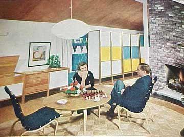 1961 MID CENTURY MODERN Decorating book Better Homes Gardens 400 ...
