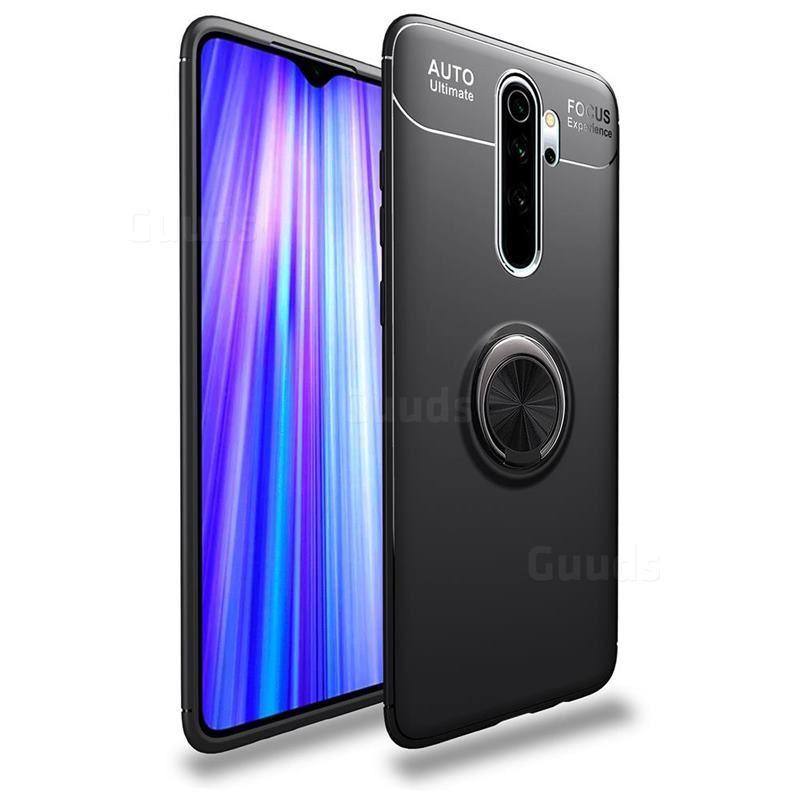 Auto Focus Invisible Ring Holder Soft Phone Case For Mi Xiaomi Redmi Note 8 Pro Black Xiaomi Redmi Note 8 Pro Cases Guuds Phone Case Cover Phone Shell Xiaomi