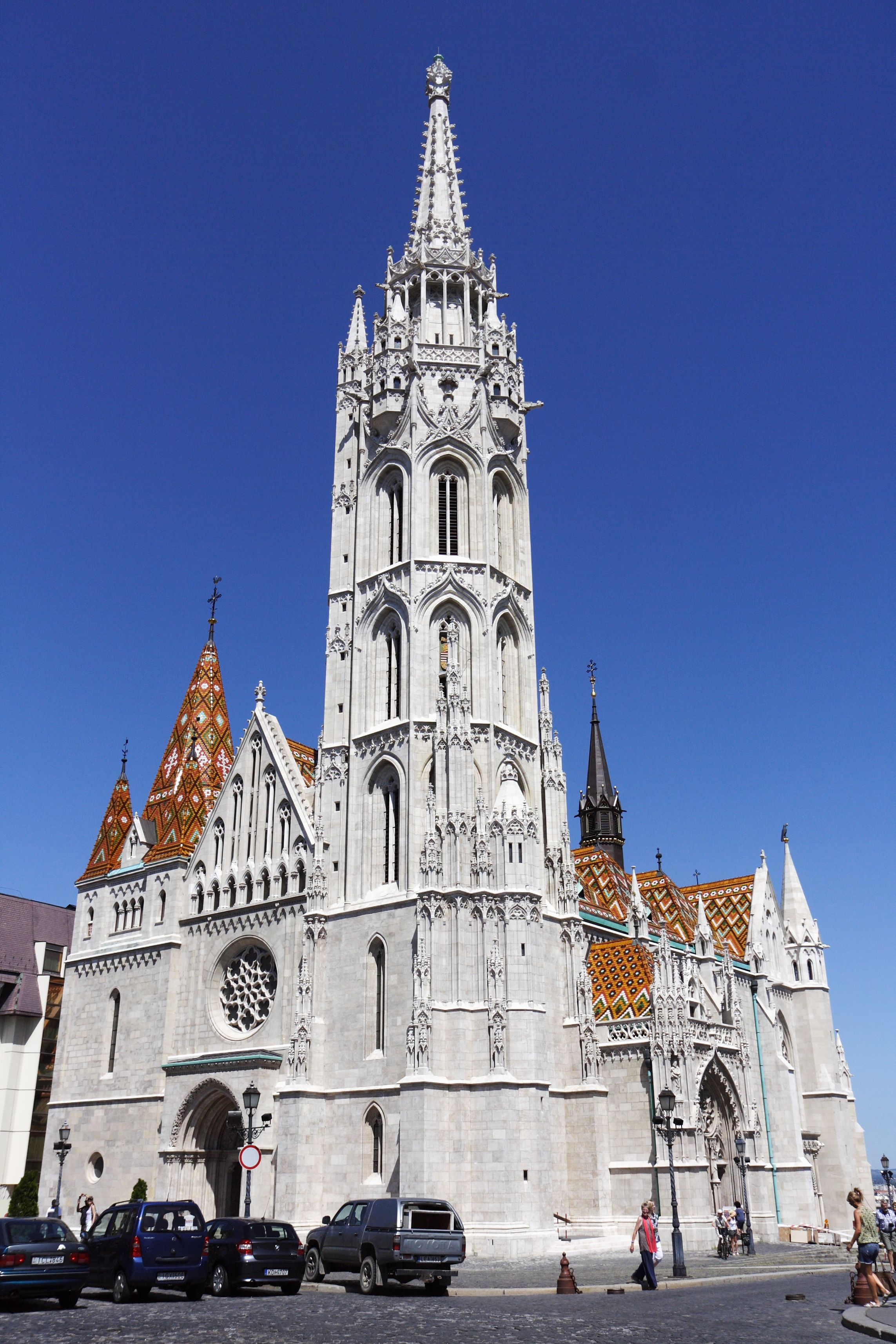 Matthias church, Buda