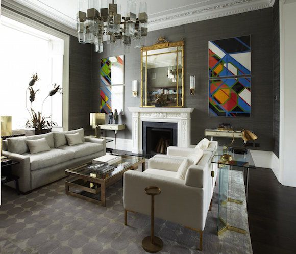 townhouse contemporary furniture. But To Make Such Stately Spaces Livable (and Not Museum-like), These Designers Have Updated Them With Contemporary Furniture, Townhouse Furniture
