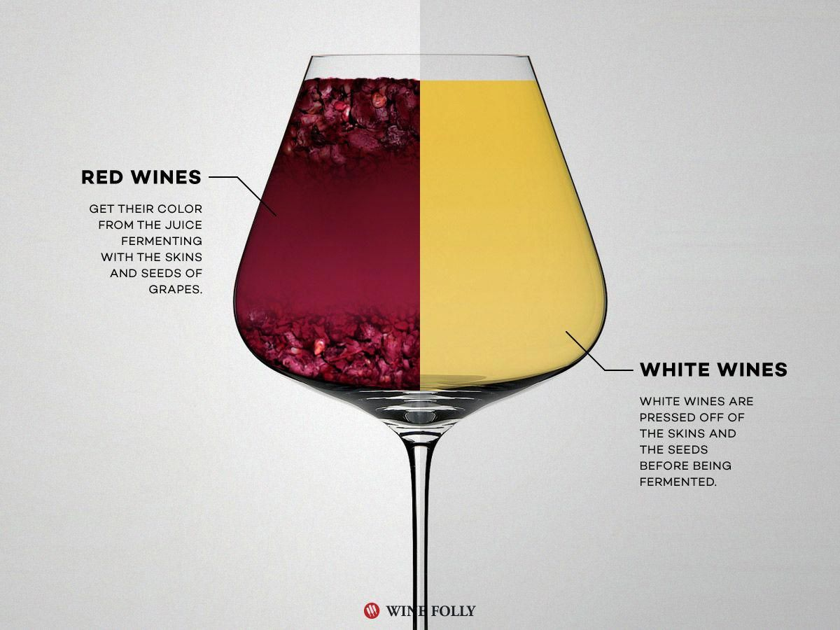 Red Wine Vs White Wine The Real Differences Wine Folly Wine Folly Red Wine Wine