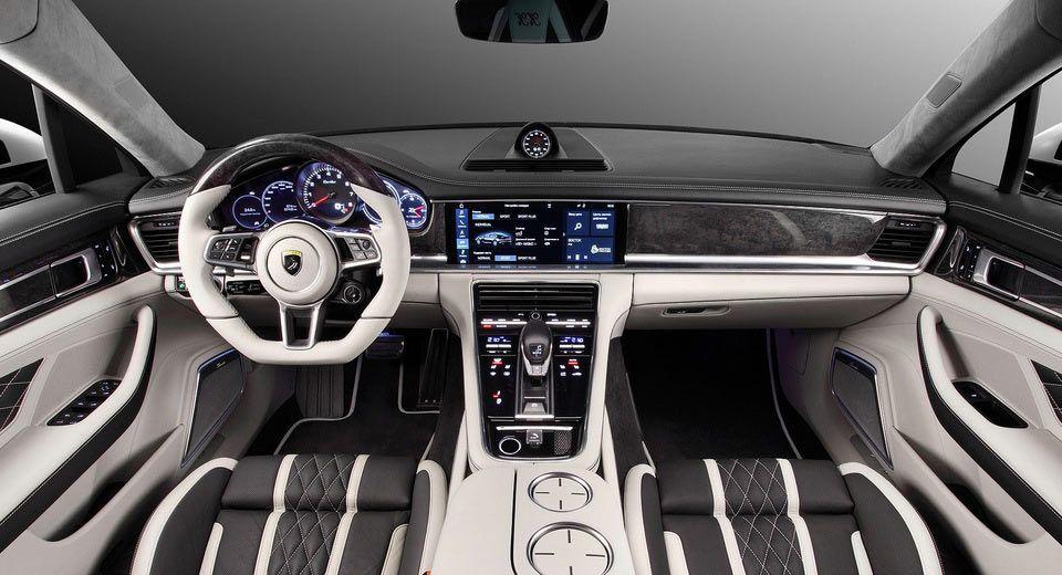 Russia S Topcar Gives All New Porsche Panamera A Custom Interior Job