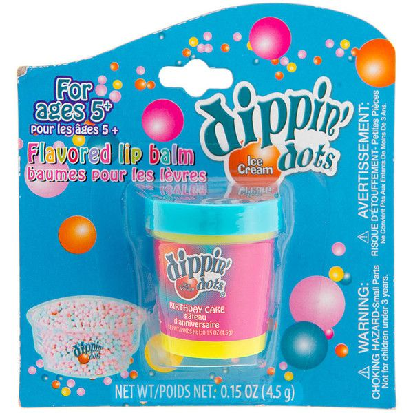 Dippin Dots Birthday Cake Flavored Lip Balm Claires 35