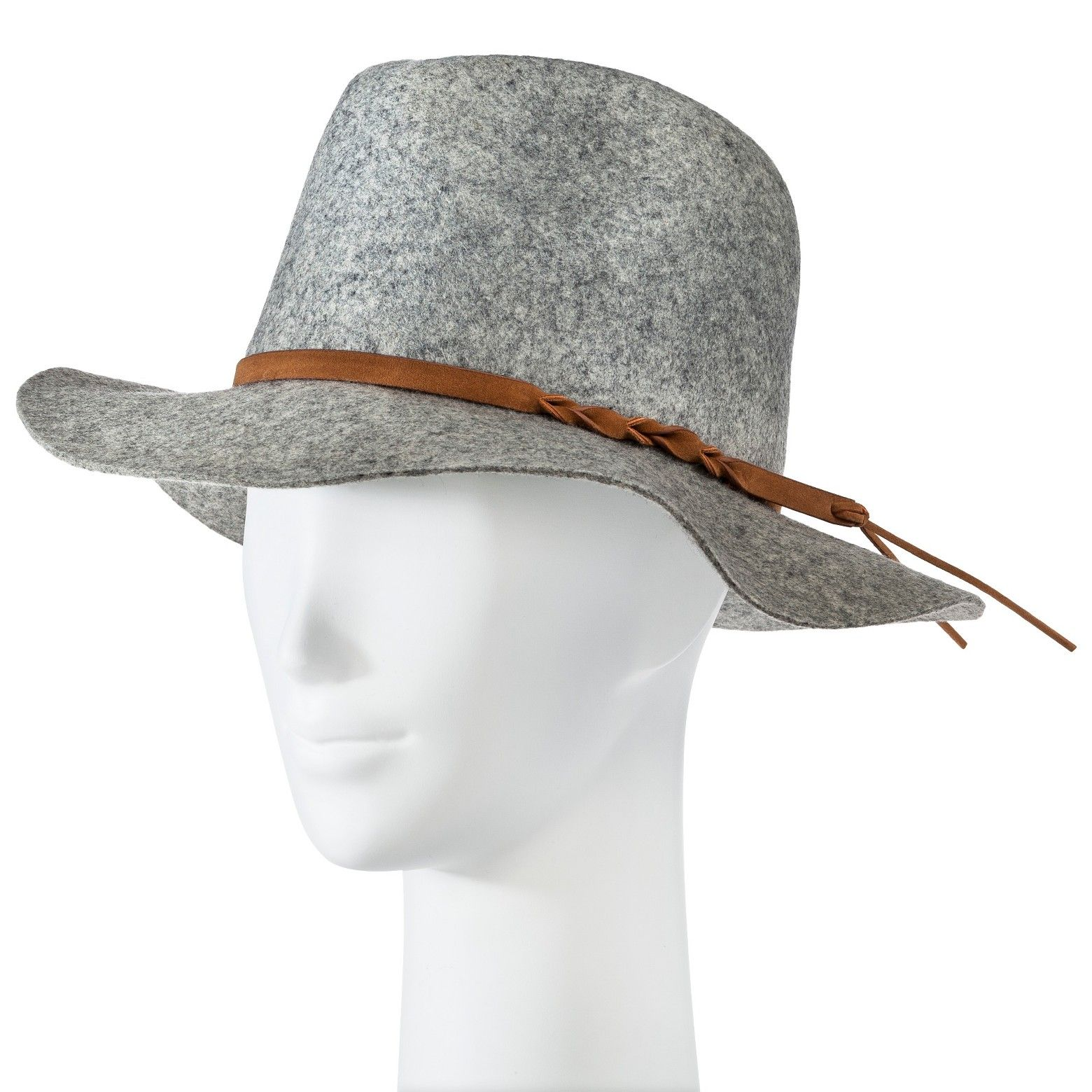 8ce77ef784a2f The classic look of the Women s Fedora Hat from Merona elevates any look.  The beautiful