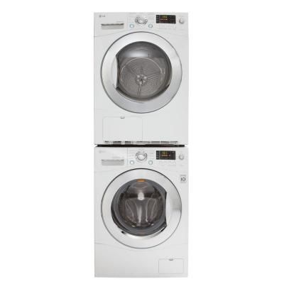Lg Electronics 4 2 Cu Ft Electric Ventless Dryer In White House