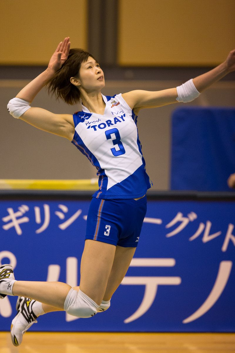 Pin by 揚洋 on 雜 Female volleyball players, Volleyball