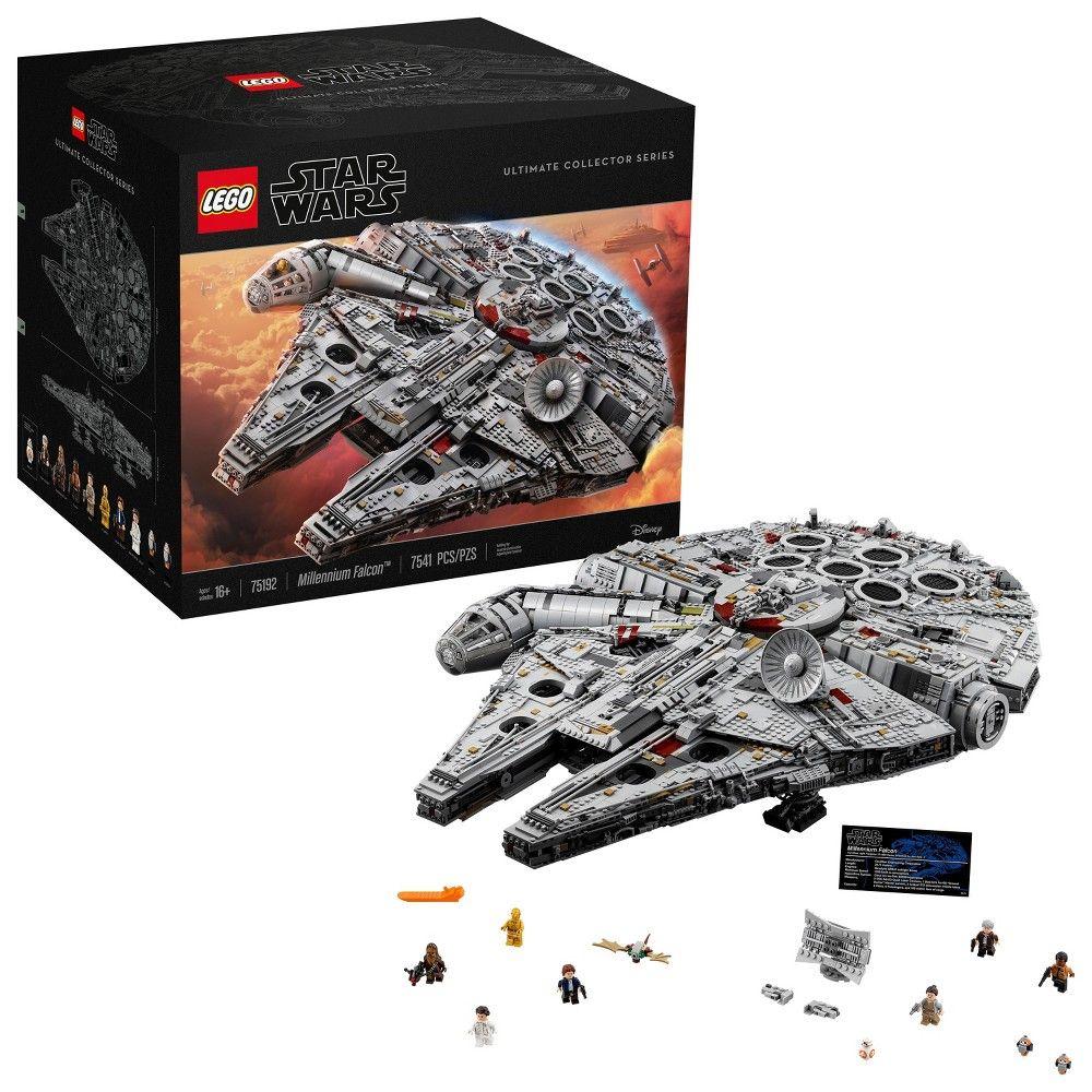Lego Star Wars Millennium Falcon 75192 Big Lego Lego Star Wars Millennium Falcon