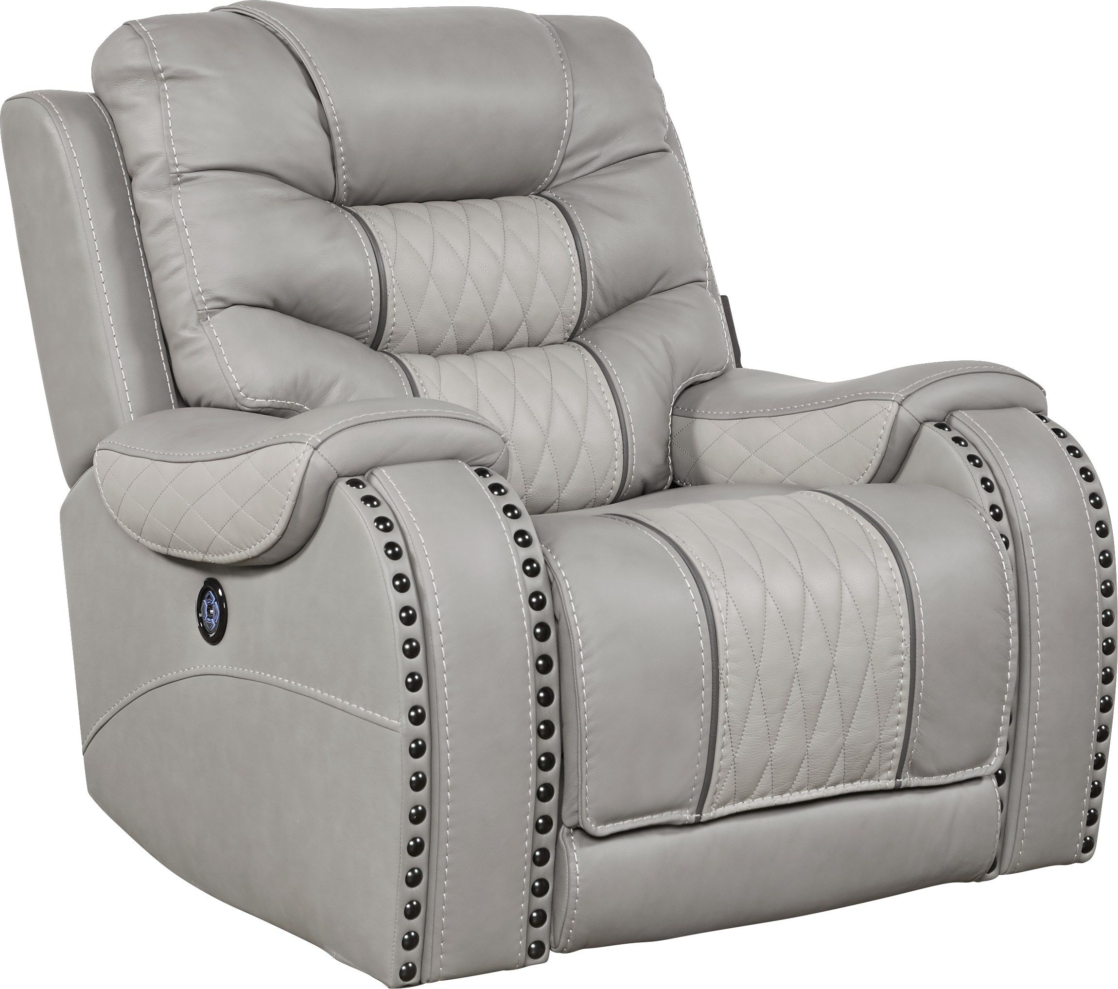 Eric Church Highway To Home Headliner Gray Power Plus Recliner