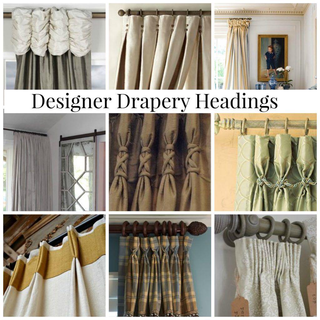 Designerdraperyheadings Curtains Drapery Designs Drapes
