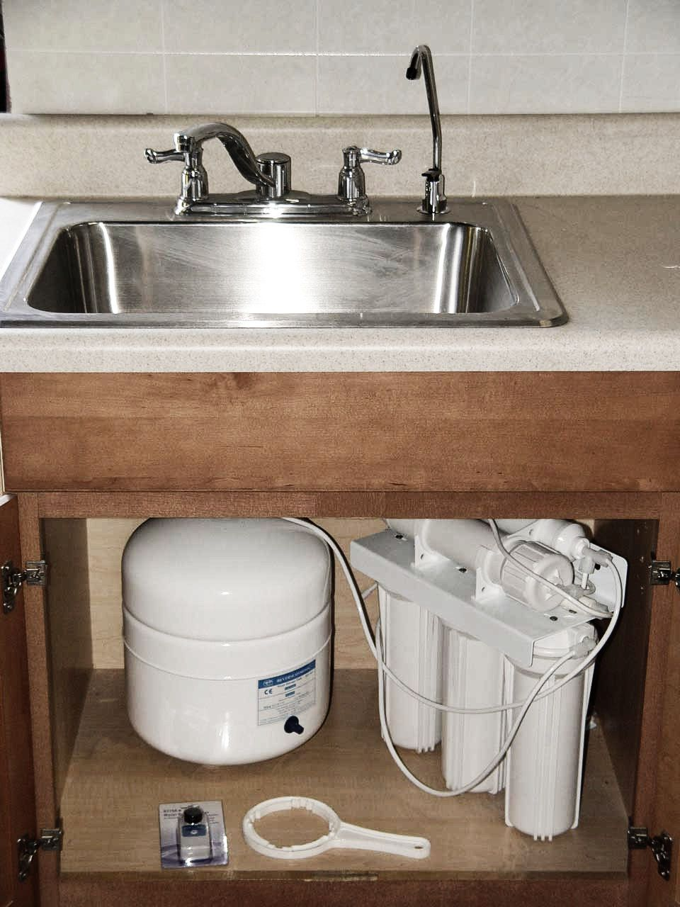 systems are used for drinking and cooking, and are usually