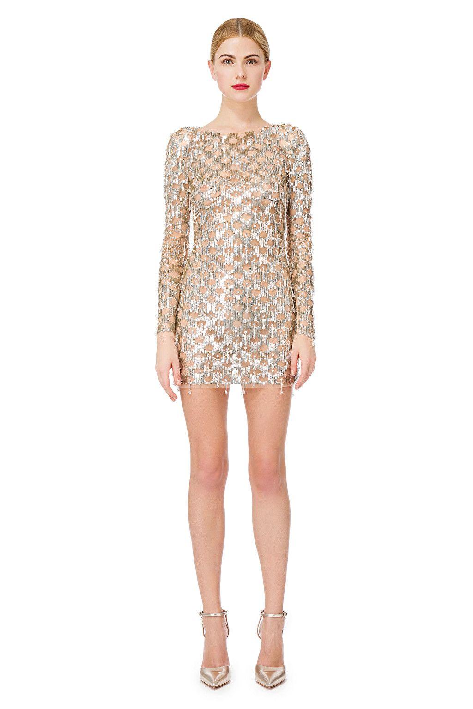 cheap for discount 9aa40 6513e Mini abito con ricami - Elisabetta Franchi | Dress.... nel ...