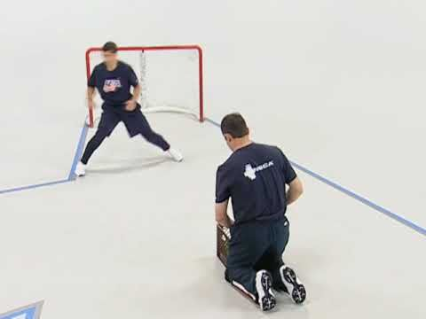 Usa Hockey Skills And Drills Off Ice Butterfly And Recovery To