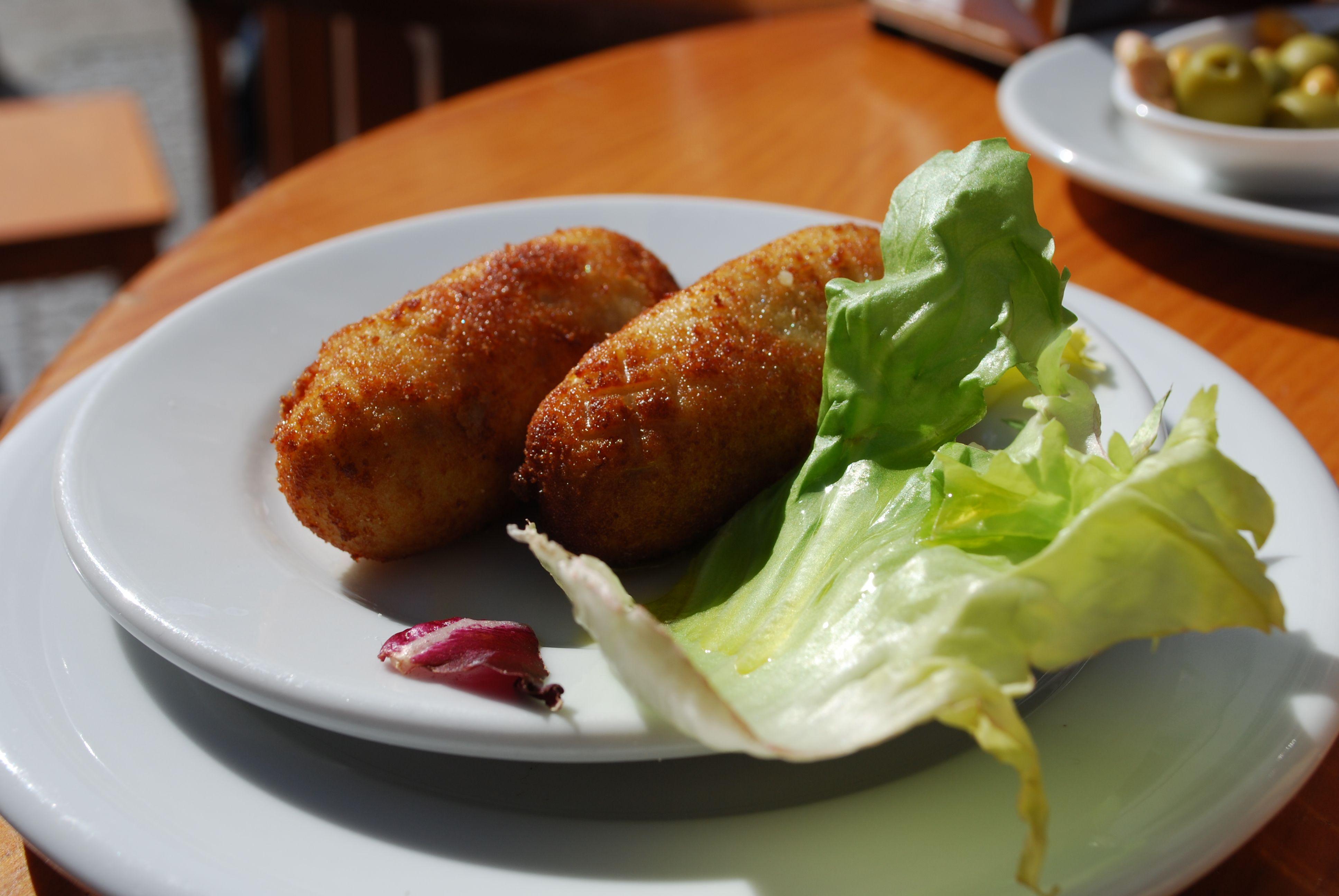 Croquetas! A Spanish classic. | Traditional Spanish Food ...  Croquetas! A Sp...